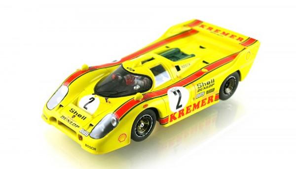 Slotcar 1:32 analog LE MANS MINIATURES Kremer 917 Brands Hatch 1981 No. 2 High Detail Resin Collectors Edition
