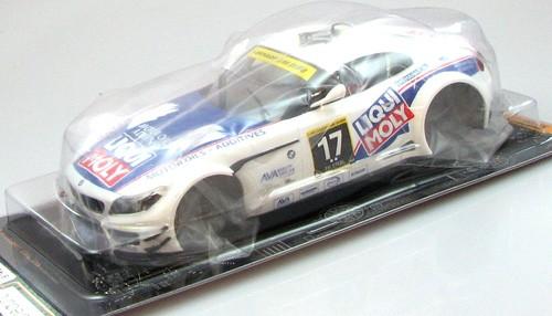 Karosserie 1:24 f.Slotcar Z4 GT3 Dubai 2011 No. 17