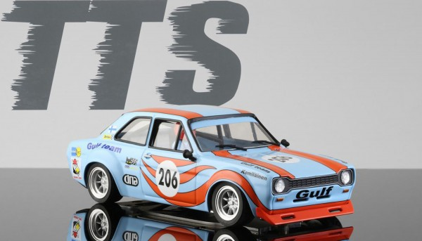 Slotcar 1:24 analog Escort No. 206