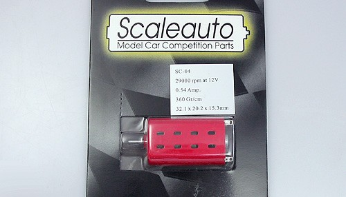 Motor SC-04 Outlaw Long-Can (29000U/12V) m.Ø2mm Welle u.gehäuseseitigem Antrieb