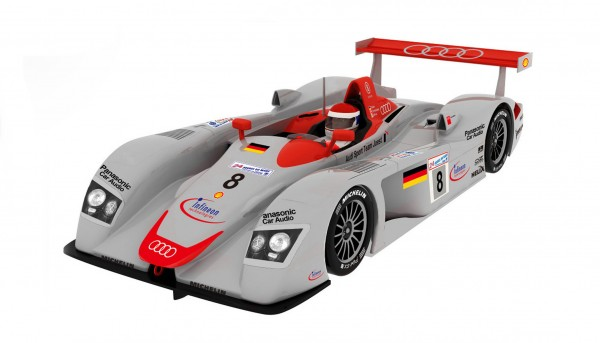 Slotcar 1:32 analog Slot.it R8 LMP Le Mans 2000 No. 8 Winner's Collection Limited Edition
