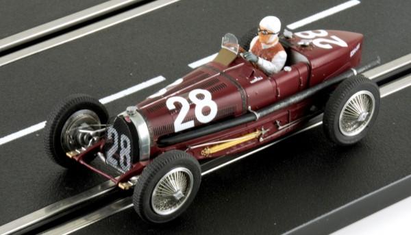 Slotcar 1:32 analog LE MANS MINIATURES Typ 59 Grand Prix Monte Carlo 1934 No. 28 High Detail Resin Collectors Edition