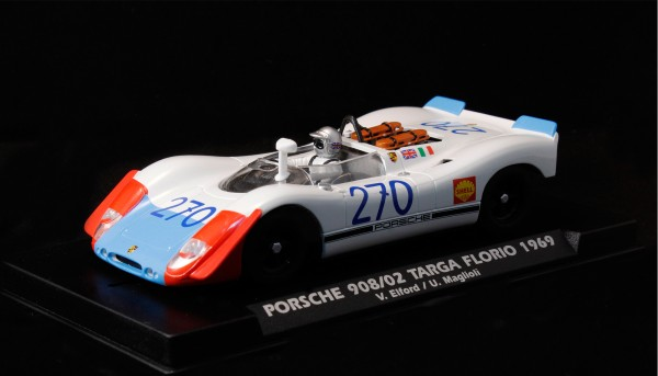 Slotcar 1:32 analog FLY 908 Targa Florio 1969 No. 270 Special Edition