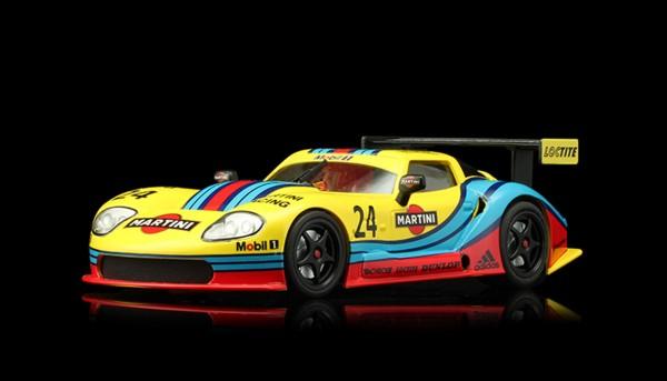 Slotcar 1:32 analog REVOSLOT LM600 No. 24 Yellow Edition
