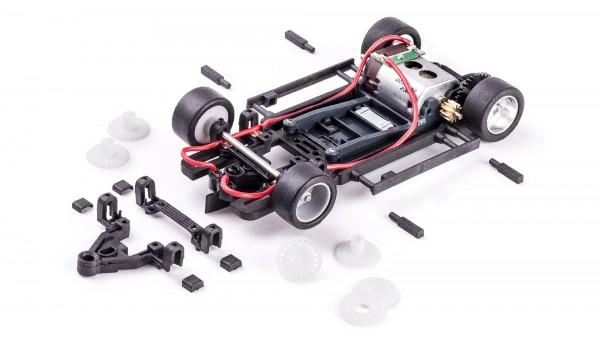 Fahrwerk-Set HRS2 Sidewinder Offset 0,5mm m.Motor u.Zubehör
