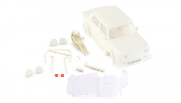 Karosseriebausatz BRM Simca Typ B Kunststoff weiß f.Slotcars 1:24