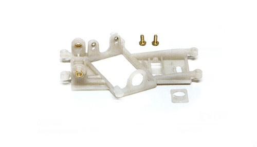 Motorhalter Slot.it GT/LMP Boxer/Flat Anglewinder EVO6 m.Hinterachsträger Offset 1mm Kunststoff hart f.Slotcars 1:32