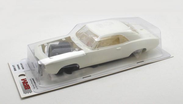 Slotcar 1:24 Bausatz analog Camaro 1969 weiß