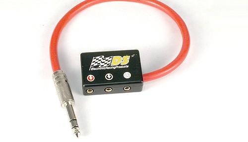 Handregler-Anschlussadapter Klinkenstecker Ø6mm Stereo auf International-Steckbuchsenleiste