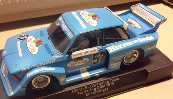 BMW 320 Gr.5 Norisring 1978 #57