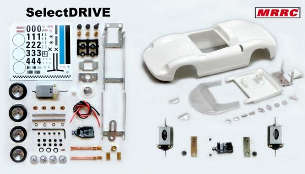 Fahrzeug-Bausatz 275-P Clubman Special Tuning weiß m.Decals