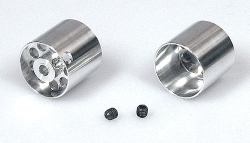Felgen ProRacing Ø16x15-15mm f.Ø3mm Aluminium Flachhump gelocht m.Innensechskant
