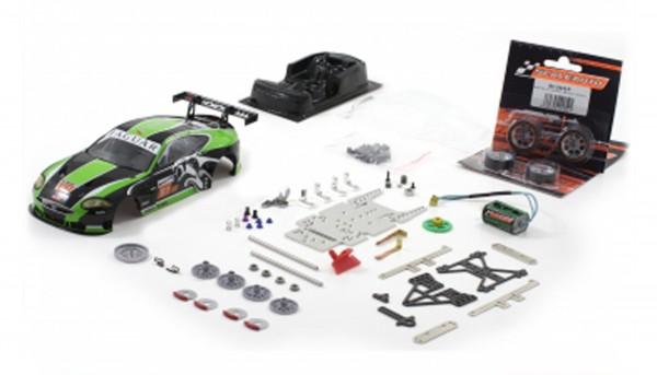 Slotcar 1:24 Bausatz analog Racing-RC2 Competition XKR GT2 Le Mans 2010 No. 81