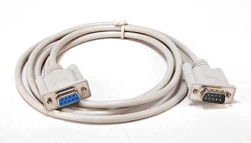 Kabelset PC-Anschluß 1,8m (9-Pin-ComPort)