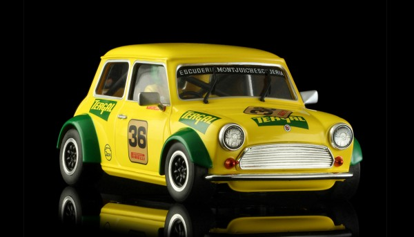 Slotcar 1:24 analog BRM Cooper No. 36 Edition m.Classic-Räder
