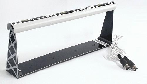Autorennbahn-Lichtschranke DS Typ Concept f.4-spurige Holzbahnen m.11cm Spurabstand