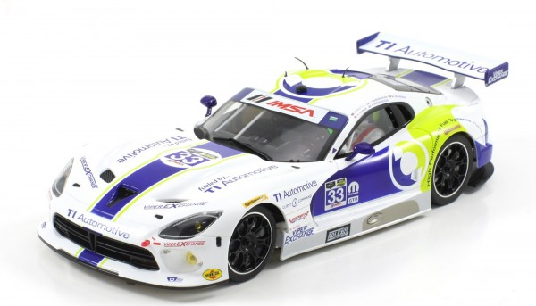 Slotcar 1:24 Bausatz analog Racing-RC2 Competition SRT GTS-R Daytona 2015 No. 33