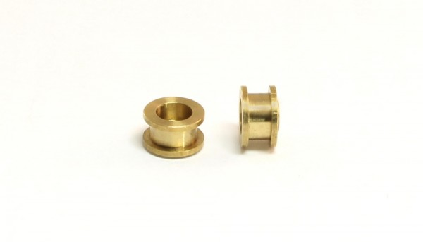 Achslager 3/32 Bronze Ø4,5x3,3mm m.Doppelbund
