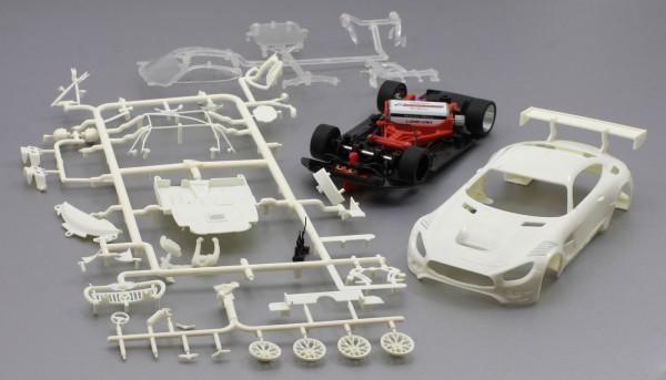 Fahrzeugbausatz MB-A GT3 Racing Kit weiß