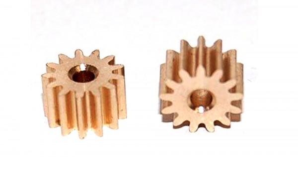 Motorritzel 13Z Ø7,3mm Messing f.Slotcars 1:24 BRM