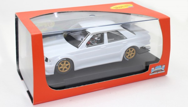 Slotcar 1:32 Bausatz analog Slot.it 190E 2.5-16 White Kit