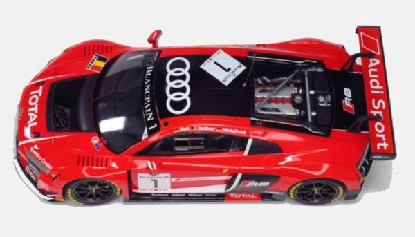Standmodellbausatz 1:24 NUNU Audi R8 LMS GT3 Spa 2015 No. 1 & No. 2