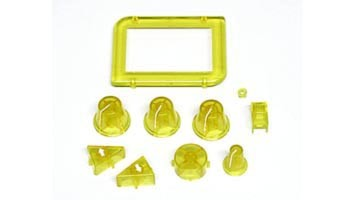 Drehknopf- u.Tasterset gelb f. Handregler