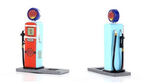 Modellzubehör 1:32 SIDEWAYS Zapfsäule Classic Gas Pump m.Bodenplatte