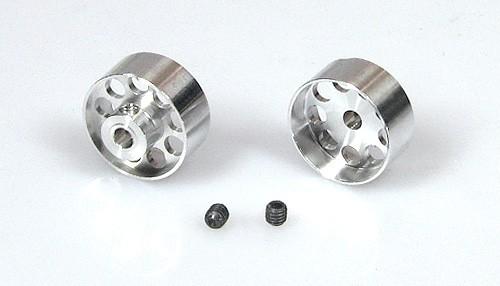 Pack Felgen ProRacing Ø16x7-10mm f.Ø3mm Aluminium Flachhump gelocht m.Innensechskant