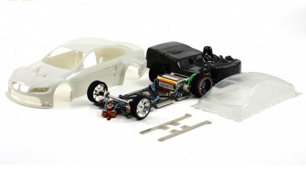 Slotcar 1:24 Bausatz analog Racing-RC2 Competition M3 GTR White Kit