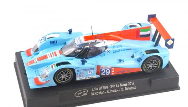 Slotcar 1:32 analog Slot.it B12/80 Le Mans 2012 No. 29