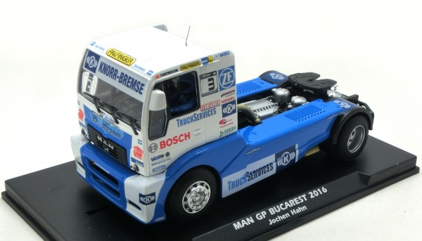 Slotcar 1:32 analog FLY MAN Renntruck Grand Prix Budapest 2016 No. 3
