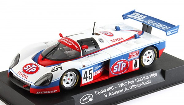 Slotcar 1:32 analog Toyota 88C Suzuka 1988 No. 45