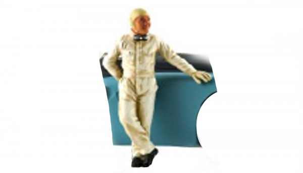 Modellfigur 1:32 LE MANS MINIATURES Rennfahrer Jean-Pierre High Detail Resin Collectors Edition