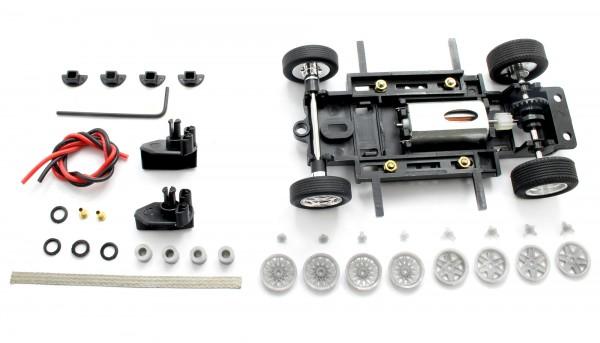 Fahrwerksbausatz Sebring Series Universal S1 Race Set f.Radstand 69-97mm m.Motor u.Zubehör