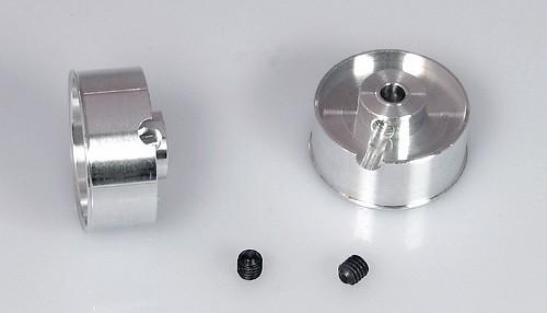 Felgen Racing-B Ø18,5x8-10mm f.Ø3mm Flachhump Aluminium m.M3