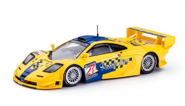 Slotcar 1:32 analog Mclaren F1 GTR Langheck Donington 1997 No. 27