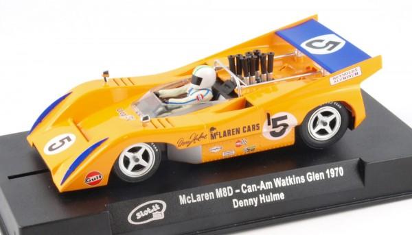 Slotcar 1:32 analog Mclaren M8D Watkins Glen 1970 No. 5