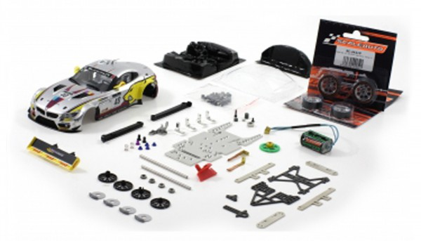 Slotcar 1:24 Bausatz analog Racing-RC2 Competition Z4 GT3 Silverstone 2011 No. 40