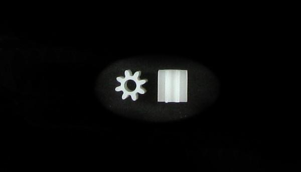 Pack Motorritzel 8Z M50 Plastik f.Ø2,0mm