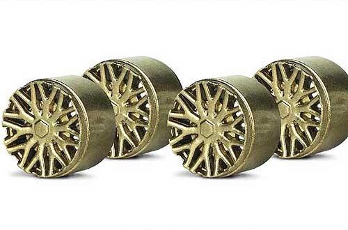 Felgeneinsätze Ø10,7mm BBS gold