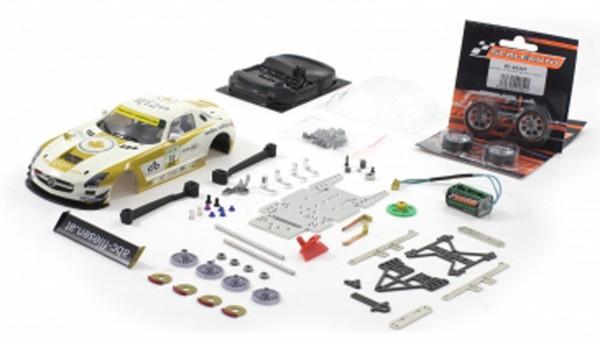 Slotcar 1:24 analog Bausatz SCALEAUTO Racing-RC2 Competition SLS GT3 ADAC Master 2011 No. 32
