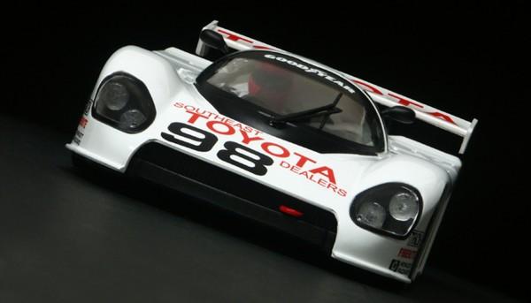 Slotcar 1:24 analog BRM 88C Daytona 1989 No. 98