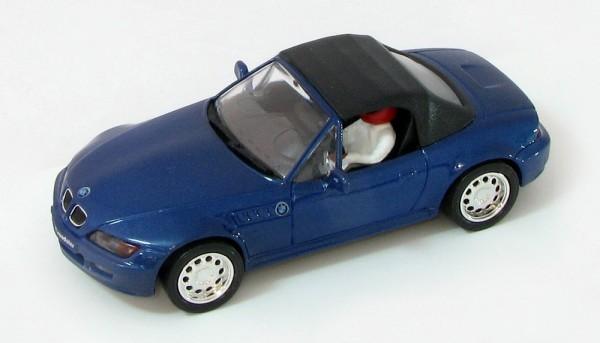 BMW Z3 blau m.Softtop