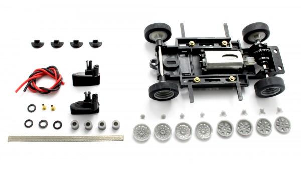 Fahrwerksbausatz 1:32 Sebring Series S1 Basic KIT komplett m.Zubehör u.Motor