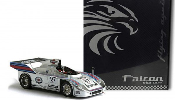 Fahrzeug-Sondermodell FylingAgain Martini Racing Porsche 908/3T No. 97 Special Collector's Edition Box