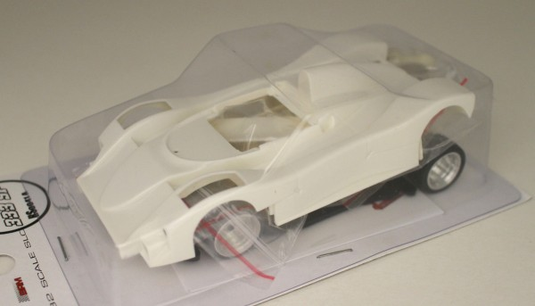 Slotcar 1:32 analog Bausatz REVOSLOT 333SP White Kit Typ A