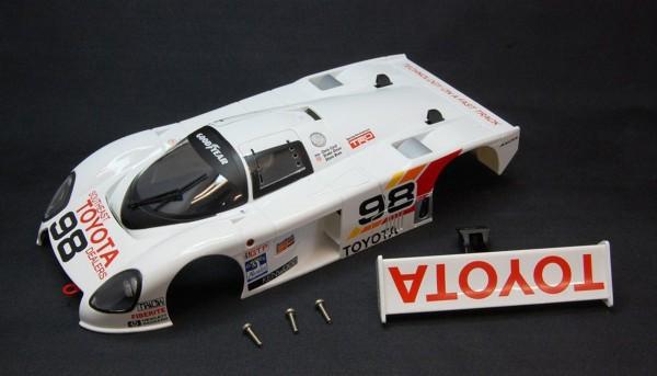 Karosserie f.Slotcars 1:24 BRM 88C Daytona 1989 No. 98