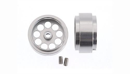 Felgen Ø14,7x8,5mm Light Aluminium gelocht m.Außenhump f.Ø2,38mm