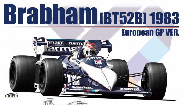 Standmodellbausatz 1:20 Brabham BT52B Monza 1983 No. 5